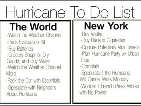 Storm survival kit list