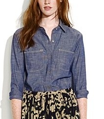 Denim Shirt: This piece represents Jane's nod to her Texan roots.