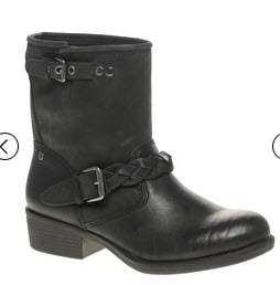 ASOS Black motorcycle boots