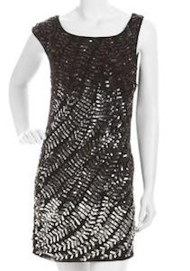 Alice + Olivia Charli Sequin Dress