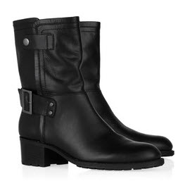 DKNY Shannon biker boots