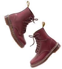 Doc Martens moto boots