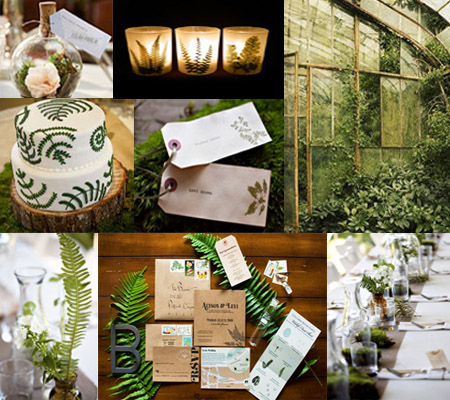Green Wedding Decoration Inspirations
