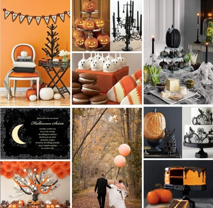 Halloween Wedding Ideas | Halloween Wedding Invitations | Pumpkin