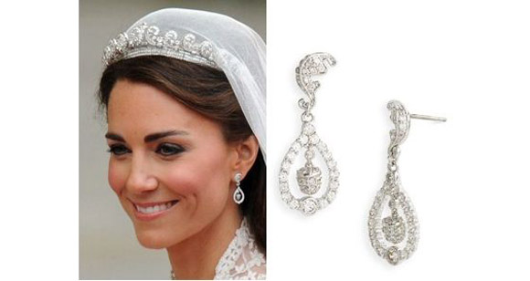Gallery For > Kate Middleton Sapphire Earrings