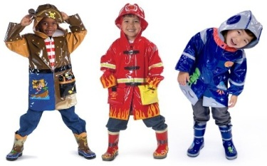 Kidorable Halloween Rain Gear