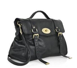 Mulberry Oversize Alexa leather satchel