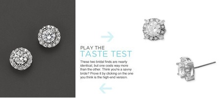 These Diamond Stud Earrings With Micro Pavé 2 600 Cost More Than 50x As Much Nadri 48
