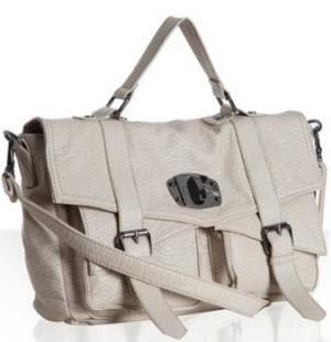 Romeo & Juliet faux leather satchel