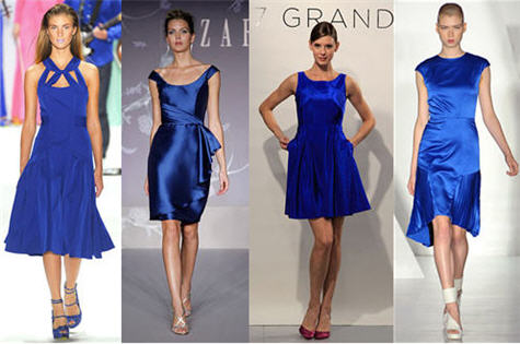 Blue Bridesmaid Dresses | Royal Blue Dresses | Fall 2011 Trends ...