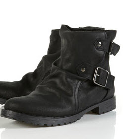 Topshop Miffin motorcycle boots