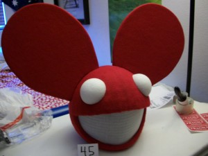 replica deadmau5 mouse head with flashing led lights - Deadmau5 Halloween Head