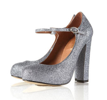 11. Glitter shoes