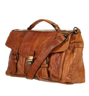 12. Leather Satchels
