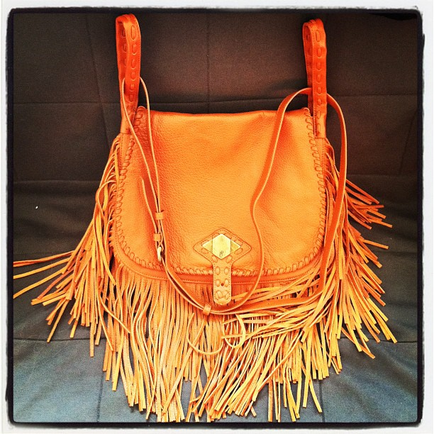 My Fringe Purse Is From Rachel Zoe S Line For Qvc 199