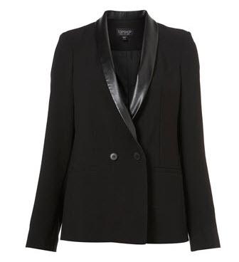 9. Tuxedo blazers