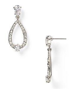 Carolee Pear Shape Gypsy Earrings