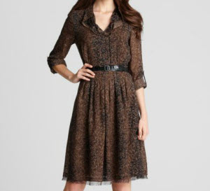 Elie Tahari shirt dress