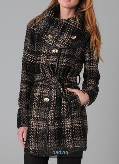 Funnel Collar coat