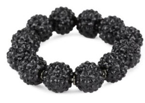 The Black Bauble Bracelet