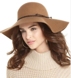 Nine West floppy wool hat