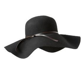 Old Navy floppy wool hat
