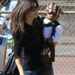 sandra-bullock-and-son-louis