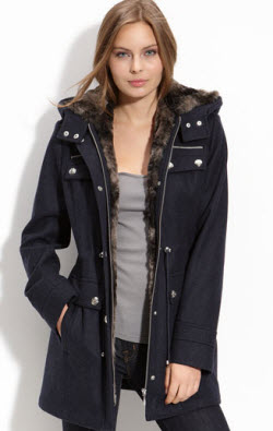 The Faux Fur Lined Anorak