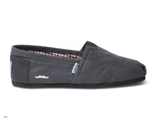 TOMS Movember Limited Edition Shoes | TOMS Moustache Shoes |Best TOMS