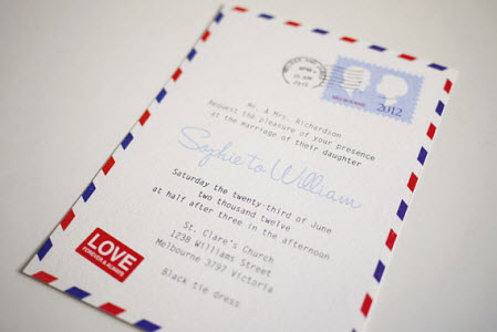 vintageairmailletterweddinginvitation la
