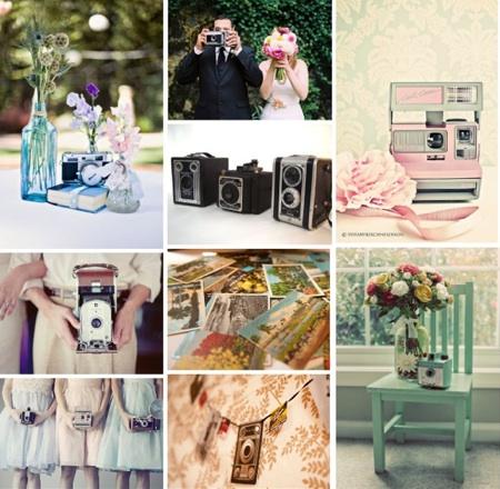 Vintage Camera Wedding | Camera Themed Wedding | Shutterbug