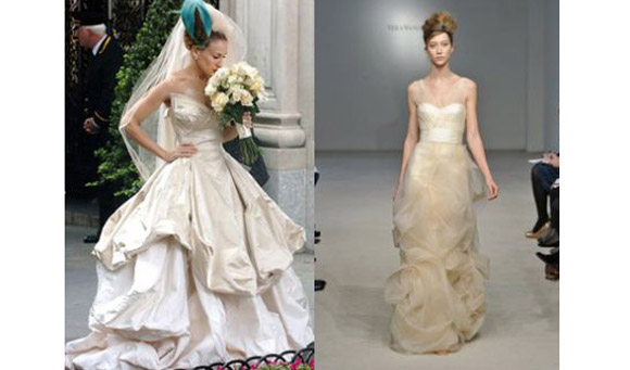 Wedding Blogs | Vera Wang Look Alikes | Vivienne Westwood Bridal
