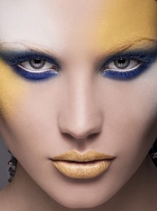 6. Yellow Makeup