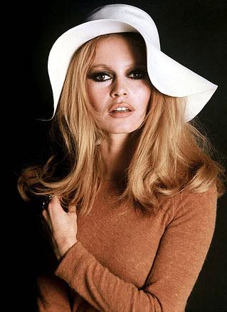 brigitte bardot wool floppy hat