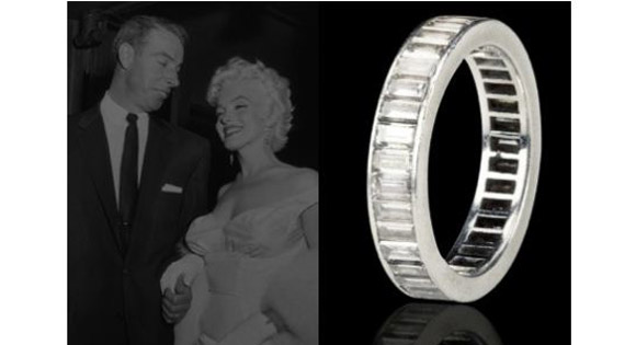 Marilyn Monroe Wedding Ring Joe DiMaggio Wedding Ring Celebrity