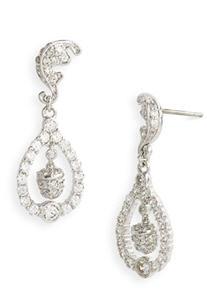 Ariella Collection Acorn & Leaf Earrings