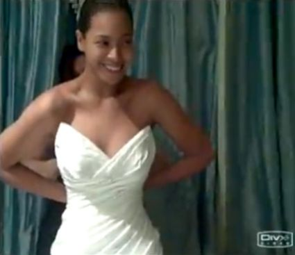 Beyonce wedding dress beyonce secret wedding dress for Beyonce wedding dress pictures