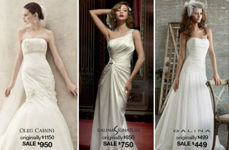 davids bridal having their infamous gown sale this year vera wang