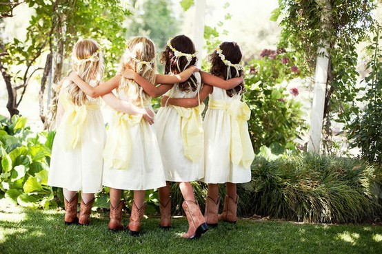 99e154d39f32f Flower Girl Dresses | Wedding Cowboy Boots | Flower Girl Shoes ...