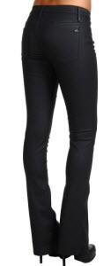 Joe's Jeans Skinny Micro Flare in Fiona Coated