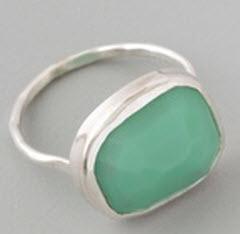 Melissa Joy Manning turquoise ring