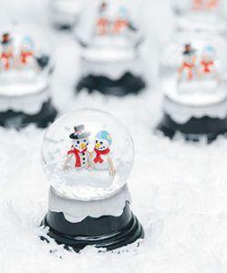 Miniature Winter Snowglobe