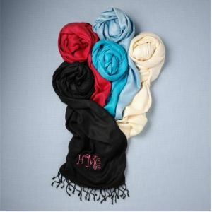 Personalized Pashmina For Bridesmaids