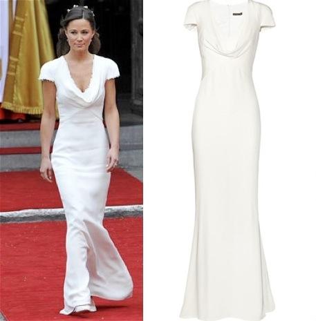 Pippa middleton alexander mcqueen alexander mcqueen s for Pippa middleton wedding dress buy