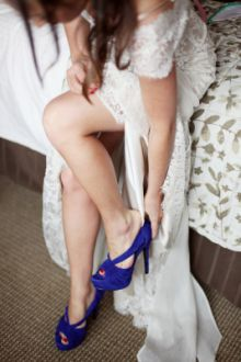 Something Blue's That Don't Suck: Sky High Pumps, Sexy Lingerie & Jewelry That Pops