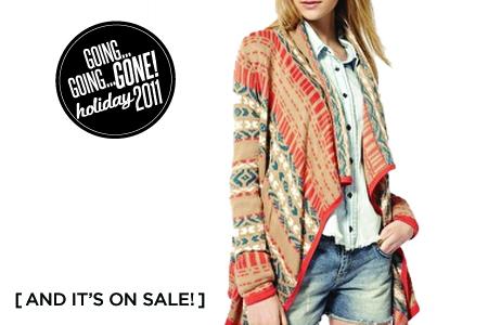 ASOS Blanket Wrap Cardigan | Best Fair Isle Sweaters | Best ...