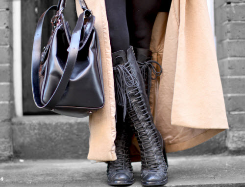 This Style Star Puts Together A Downtown Look That's As Cool As It Is  Bundled Up