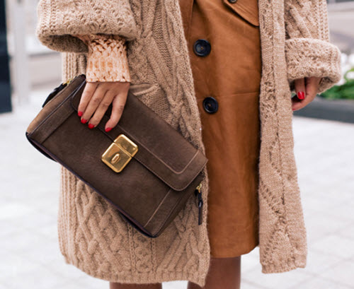Street Style Outfit Inspiration | Best Sweater Coats | Ralph