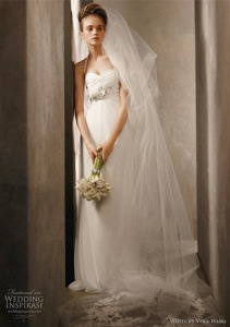 Draped Charmeuse Halter with Net Skirt and Corsage
