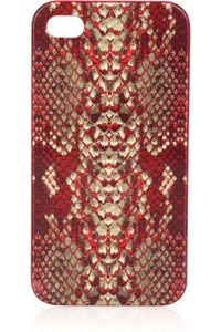 Marc by Marc Jacobs Supersonic python-print iPhone 4G case